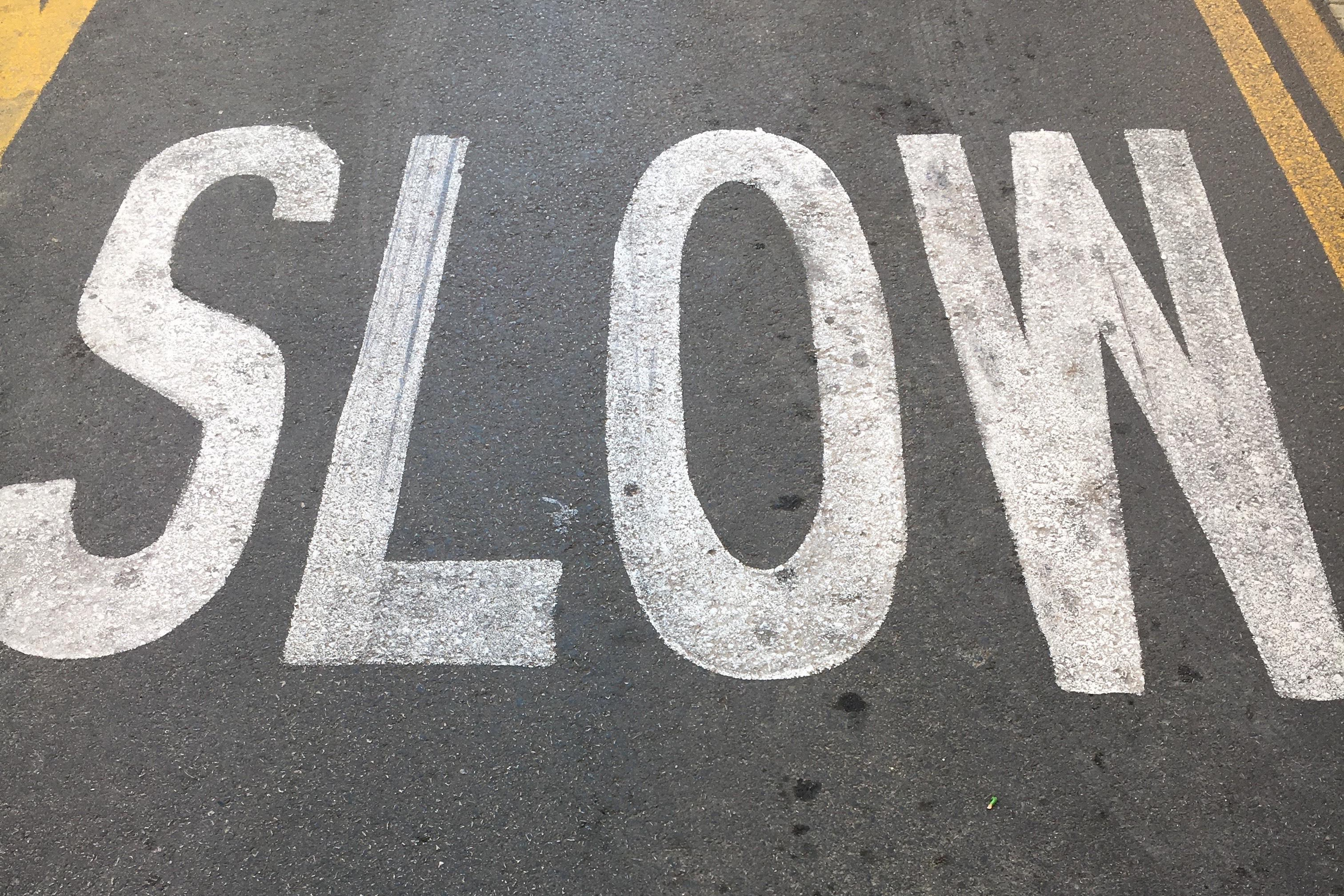 When life is just a RUSH: 6 tips to slow down