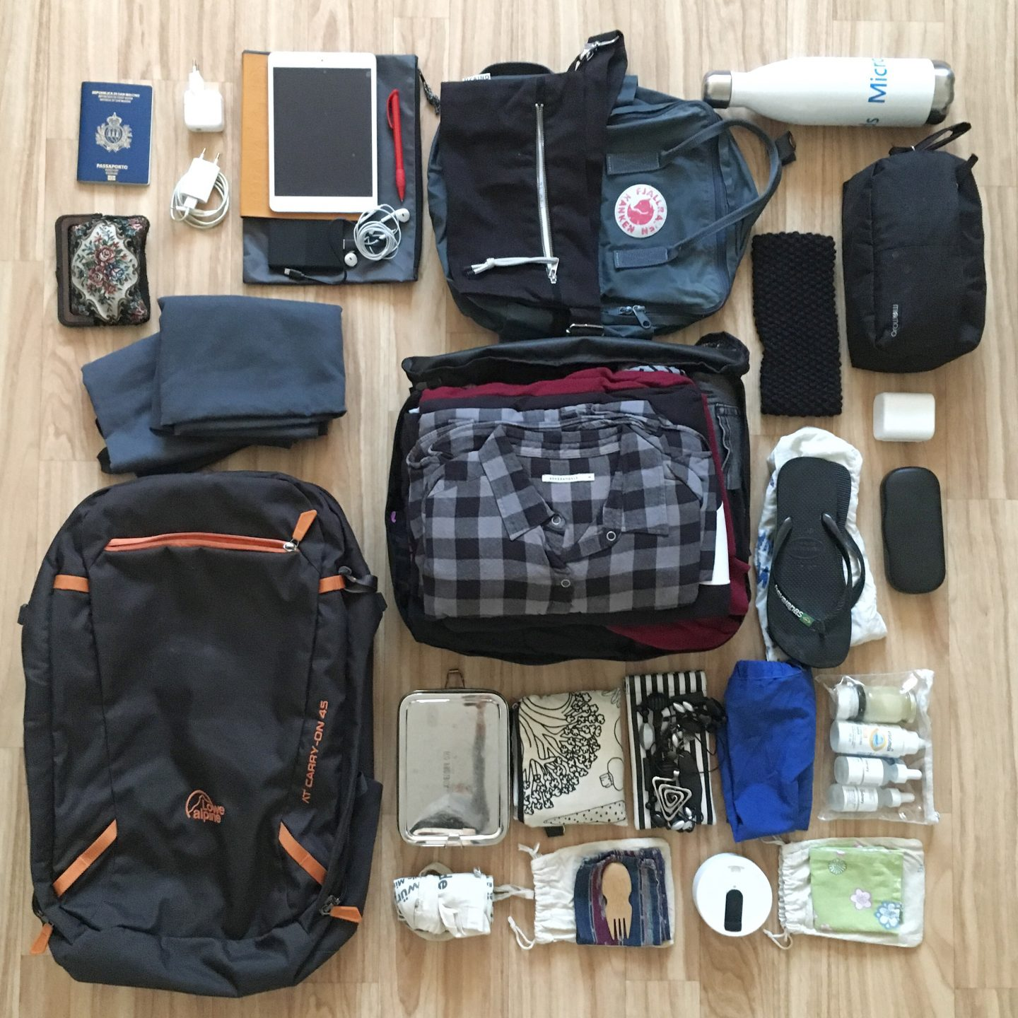 What I've packed for 17 days of solo travel in Ireland (carry on only!)